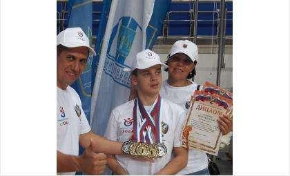 Андрей Ковалев из Бердска - лидер Всероссийской спартакиады детей-инвалидов