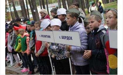 34 команды из области соревновались в Бердске