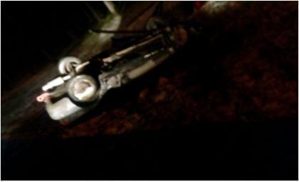 «Хонда Интегра» сбила людей на остановке и перевернулась