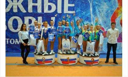 Бердчане на всероссийских соревнованиях «Сибирские узоры»