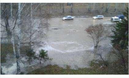 Потоп из-за прорыва водовода