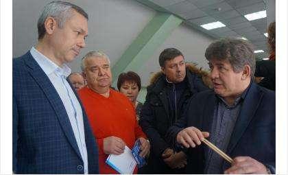 Врио губернатора Андрей Травников посетил ЛДС «Бердск»