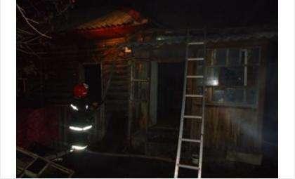 Пожар на ул. Урицкого, 54