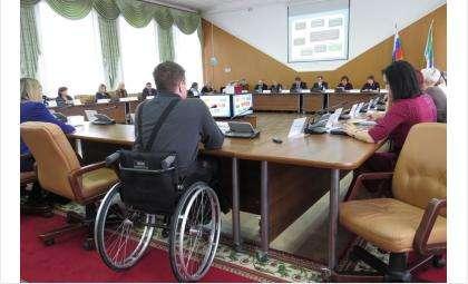Координационный совет по безбарьерной среде состоялся в Бердске