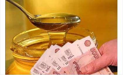 Мёд оказался сахарным сиропом, а цена на него - золотая