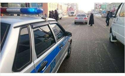 «Тойота» сбила школьника на «зебре» у Универмага в Бердске