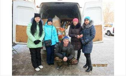 ПК Холдинг «ПродСиб» помогает приюту животных «Надежда»
