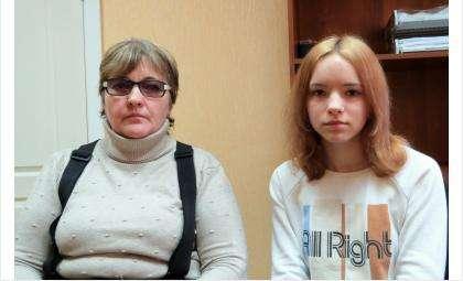 Валентина Архипова и её дочь Дарья. Отлично обучающуюся девушку выгоняют из школы
