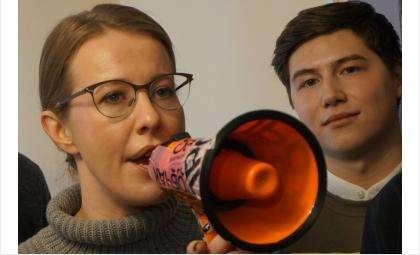 Кандидат против всех Собчак впервые посетила Бердск
