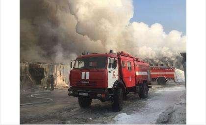 В поселке Чернореченский Искитимского района сгорела обувное производство
