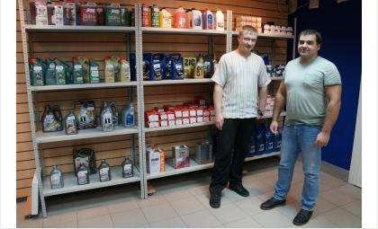 Магазин «Формула 33» расположен в центре Бердска