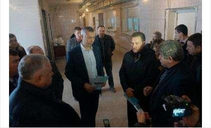 Осенью 2017 года ремонт больницы проконтролировал врио губернатора Андрей Травников