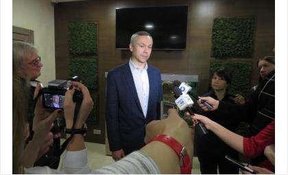 Временно исполняющий обязанности Губернатора Новосибирской области Андрей АлександровичТравников