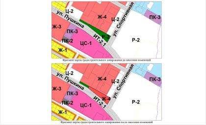 С зоны Р-2 на зону Ж-4 сменят зонирование участка на Спортивной, 15 в Бердске