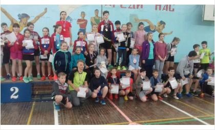 Бердск на соревнованиях представляли12 спортсменов