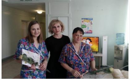 Торжественная регистрация детей в роддоме Бердска