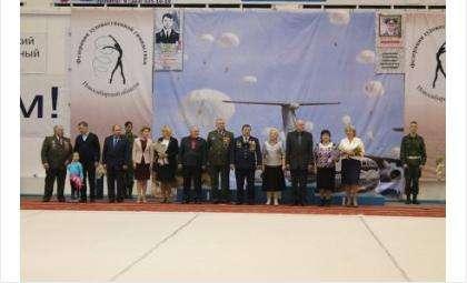 На турнире по гимнастике им. капитана Игоря Лелюха и полковника Юрия Мокрова