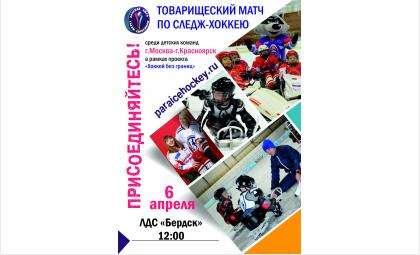 Матч пройдёт в рамках презентации проекта «Хоккей без границ»