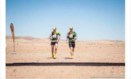 Новосибирцы бежали по жаркой пустыне более суток