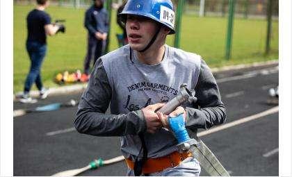 В чемпионате по пожарно-прикладному спорту участвовали юные бердчане