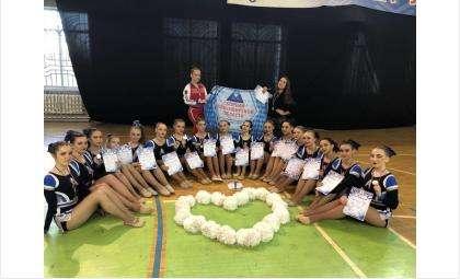 Соревнования Сибирского Федерального округа по чир спорту в Омске