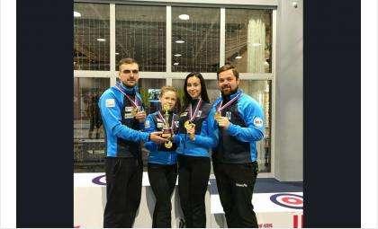 Артем Шмаков, Екатерина Кунгурова, Никита Кукунин и Александра Стояросова