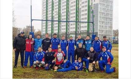 Команда бердского регбийного клуба «Дружина» заняла второеместо