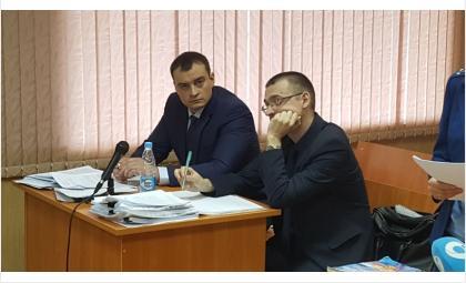 Сергей Копырин и адвокат Михаил Герасцын