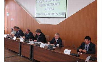 Президиум администрации Бердска скоро будет выглядеть иначе