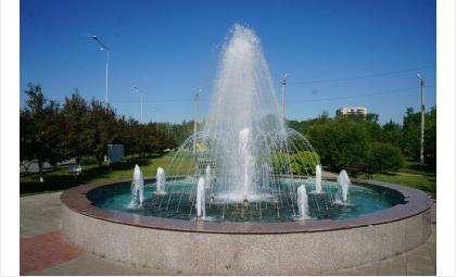 Фонтан Желаний - первый фонтан в центре Бердска