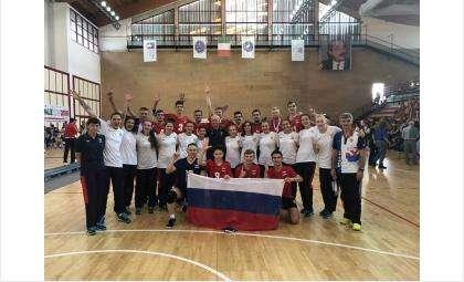 В составе сборной России играли четверо новосибирцев и один бердчанин