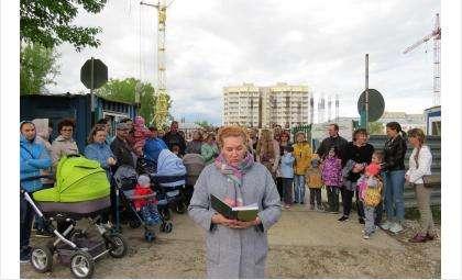 От лица дольщиков видеообращение к президенту Путину записала Ирина Терентьева