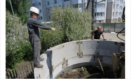 Строительство дренажной системы в Бердске ведёт компания «ВИОГЕМ» из Белгорода