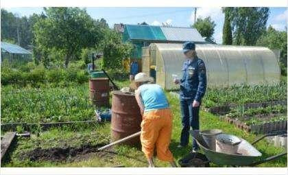 Стартовал конкурс «Самое пожаробезопасное садоводческое объединение»