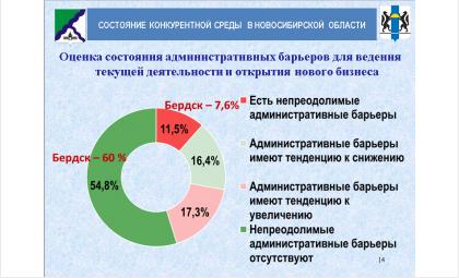 60% бердских бизнесменов уверены: непреодолимых барьеров нет