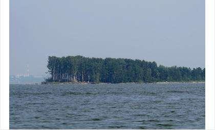Остров Тань-Вань на Новосибирском водохранилище