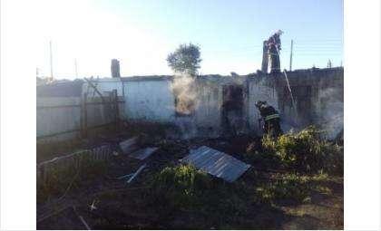 Пожар в доме многодетной семьи