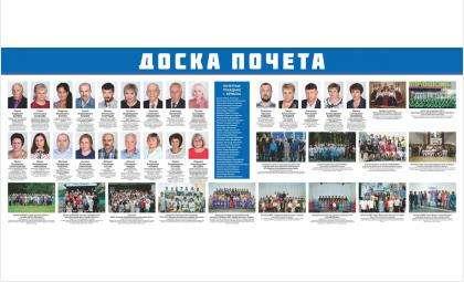 Доска почета Бердска 2018-2019 г.г.