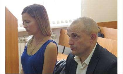 Сергей Проценко и его дочь Екатерина Песляк на скамье подсудимых