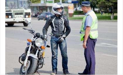 Операцию «Мотоциклист»проводит ГИБДД в Новосибирской области