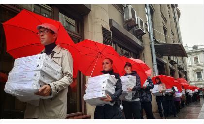 Подписи бердчан против пенсионной реформы переданы Владимиру Путину
