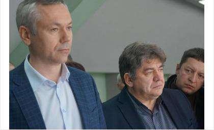 Андрей Травников и Евгений Шестернин