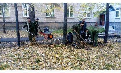 В бердском пансионате ветеранов труда им. Калинина