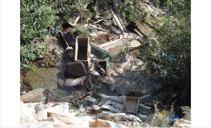 Несанкционированные свалки мусора незаконны