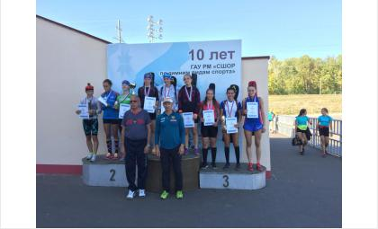 Бронзовую медаль первенства РФ по летнему биатлону получила бердчанка