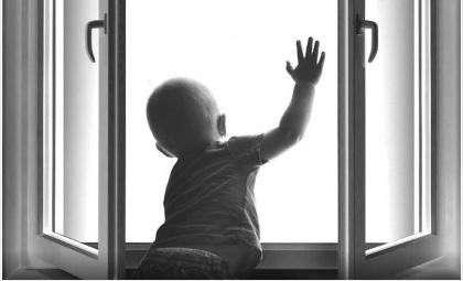 Дети у окна - опасность!