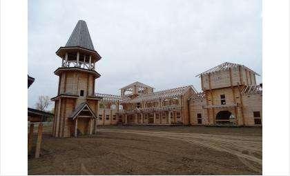 Туристическо-культурный центр «Бердский острог» готовится к открытию
