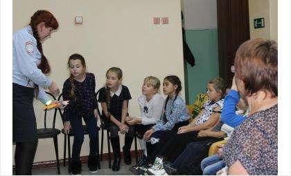 В Искитиме ГИБДД учит детей безопасности