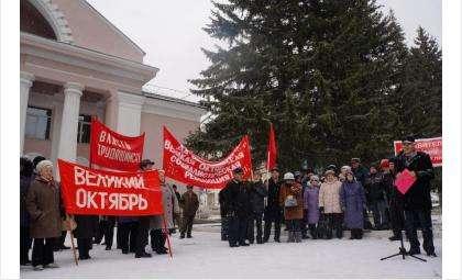 101-ю годовщину революции КПРФ Бердска отметит митингом 7 ноября