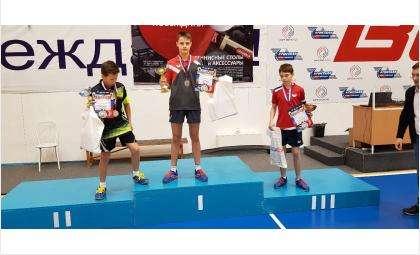 Максим Рассказов - победитель кубка «Старт Лайн» по настольному теннису